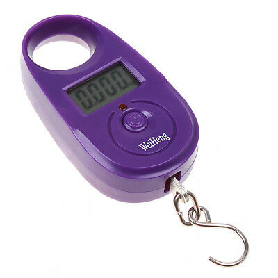 25kg*5g Pocket Electronic Digital Hanging Hook Travel Luggage Weight Scale B9R8