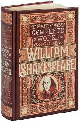 The Complete Works of William Shakespeare Plays Hamlet Book Leather Bound Set