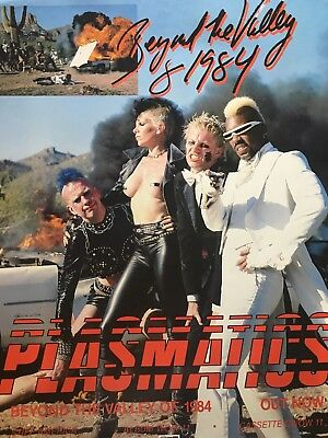 The Plasmatics Beyond The Valley Of 1984 Authentic Rare Stiff Promo Poster 1981