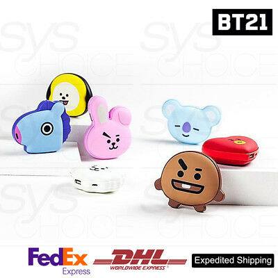BTS BT21 Official Authentic Goods Portable Hand Warmer + Power Bank by Royche