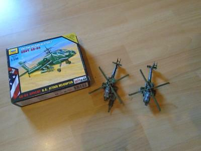 Helicopter Ah-64 Apache U.S. Attack 1:144