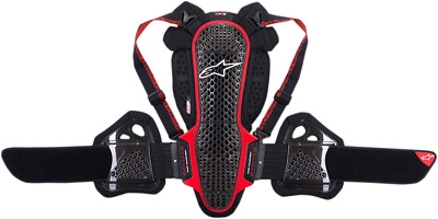 Alpinestars 6504718-13-M Nucleon KR-3 Back Protector M Black/Red