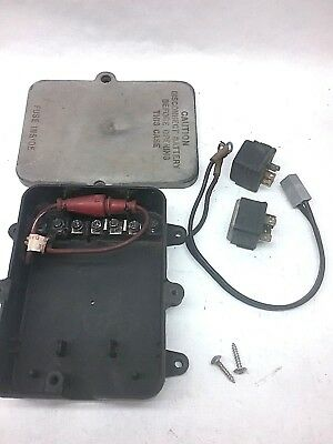 Tilt/Trim Relay Box, 411862, 150hp V-6 1999 Ficht/Evinrude
