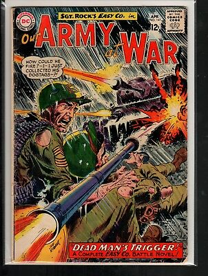 Our Army at War #141 VG- 3.5 DC Silver Age War 1964 Sgt. Rock's Easy Co.