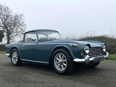 1968 TRIUMPH TR5 Genuine UK Matching Numbers Car  Surrey Top  Overdrive