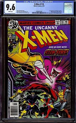 X-Men #118...CGC 9.6 NM+...First Mariko Yashida....Chris Claremont story