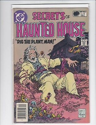 Secrets of Sinister House #43 newsstand - DC Horror - 1981 - Fine/Very Fine