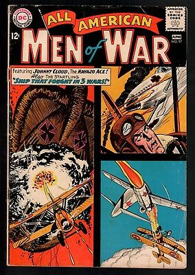 All-American Men of War #97 VG- 3.5 DC Silver Age War 1963 Johnny Cloud!!!