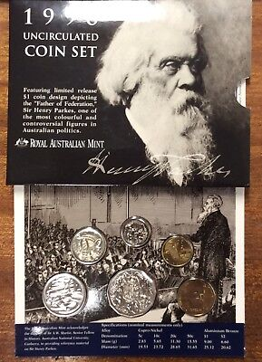 1996 RAM Uncirculated year set