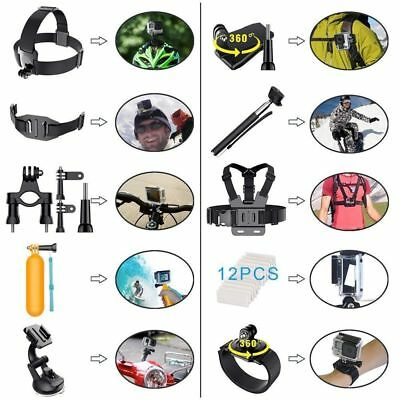 For GoPro Hero 5 4 3 2 Session Accessories Camera Mount suction Cup Stick Kit US