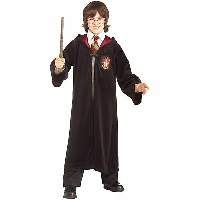 AU Christmas Harry Potter Gryffindor Robe Cosplay Party Kids Fancy Dress Costume