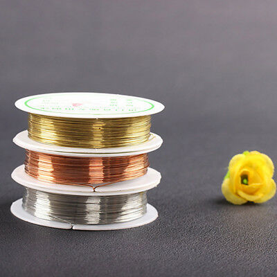 Wholesale Soft Copper Wire/Wire line for DIY Jewelry Making 0.2-1mm 3color