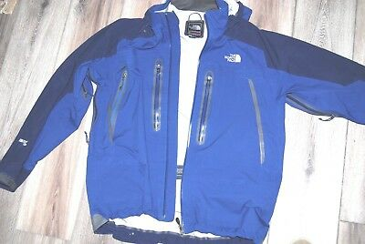 4dfcc625a THE NORTH FACE Summit Series Gore-Tex XCR Waterproof Ski Jacket Mens Size  Large