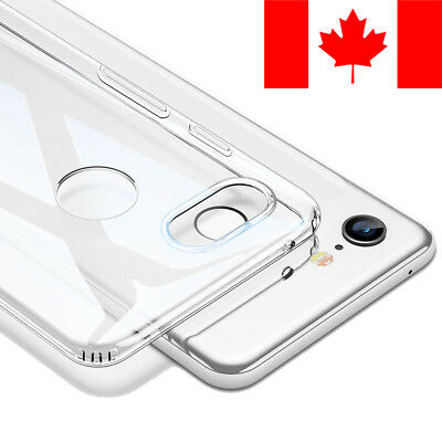 Clear Transparent Soft Case Cover For Google Pixel 3