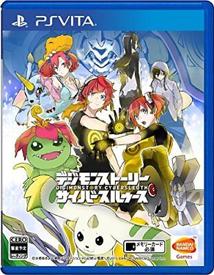() USED PS VITA  Digimon Story cyber Sul over scan