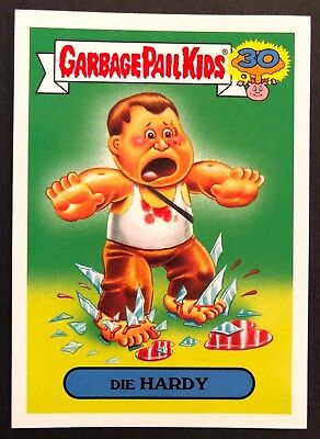 Garbage Pail Kids 2015 Series 2 30th #17a DIE HARDY 80s Spoof NrMint-Mint