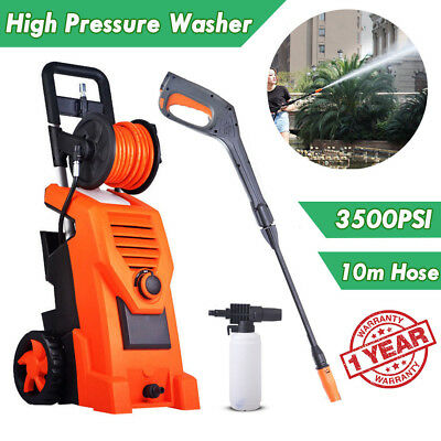 3500 PSI High Pressure Washer Cleaner Electric Water 10M Hose Gurney Pump Spray