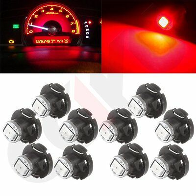 20Pcs Red T4.2 Neo Cluster Car Wedge Instrument Dash Panel Gauge LED Gauge Light