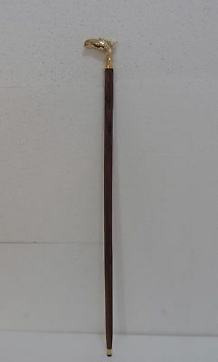 NEW Vintage Solid Brass Eagle Handle Antique Style Cane Wooden Walking Stick