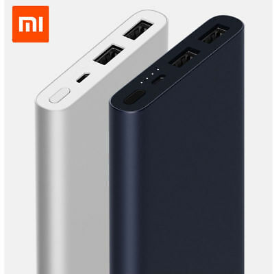 Xiaomi Mi Power Bank 2S 10000mAh Quick External Phone Portable Battery Charger