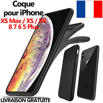 Coque Protection Pour Iphone 6 - 5 7 8 Xs Max Xr Tpu Bumper Silicone Housse Case