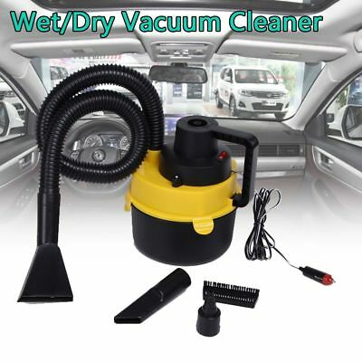 12V Wet Dry Vac Vacuum Cleaner Inflator Portable Turbo Hand Held for Car Boat