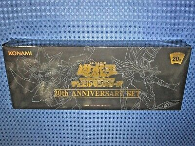 YuGiOh! OCG 20th Anniversary Set Limited Secret Rare Pack Field Mat Sleeve JAPAN