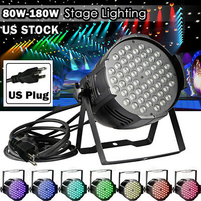80W-180W LED Club Disco Moving Head Beam Lights DMX Stage Party DJ XMAS Lighting