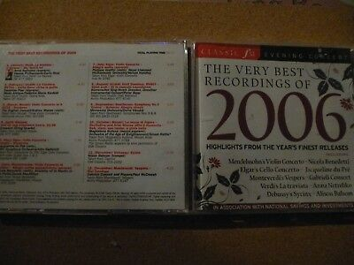 Classic FM...Evening Concert...Very Best Recordings of 2006...Various...CD