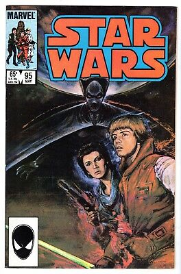 Star Wars #95 Autographed by Writer Jo Duffy, Near Mint Minus Condition