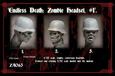 Monolith Models 1/35mm Endless Death German Zombie Headset #1