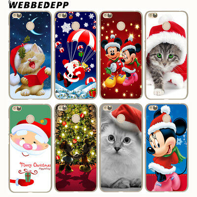 N4371 Case For Xiaomi Redmi 4A 5A 5 Plus 6A 6 Note 5 Christmas Cover Colorful