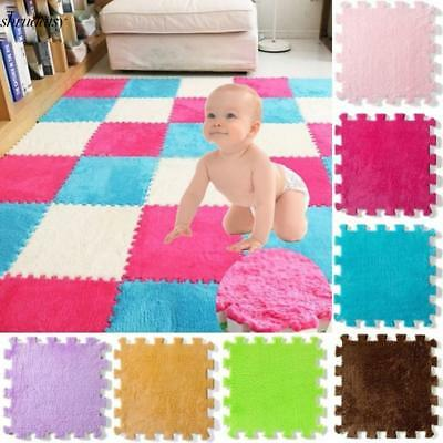 New Kids Baby Non-Toxic Extra Thick Foam Crawling Play Mat Set S5DY
