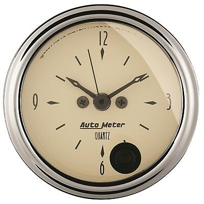AutoMeter 1885 Antique Beige Clock