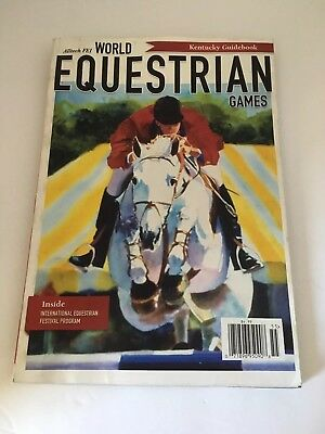 World Equestrian Games Kentucky Guidebook 2010 Pre-Owned Advertising Horses