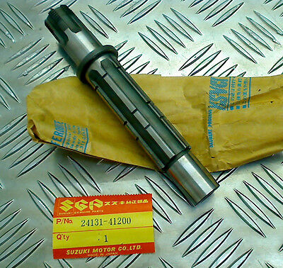 Suzuki Rm370 1976-1977 / Rm400 1978, New Original Driveshaft, 24131-41200