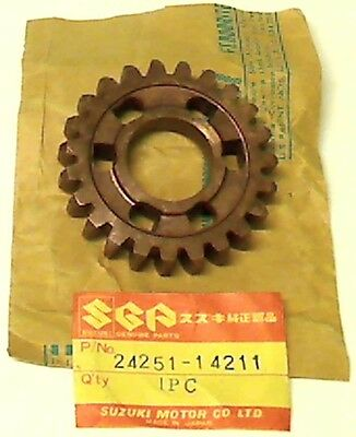 Suzuki Rm 465 X, Z 1981-1982, New Original Gear 5Th Drive (Nt:23), 24251-14211