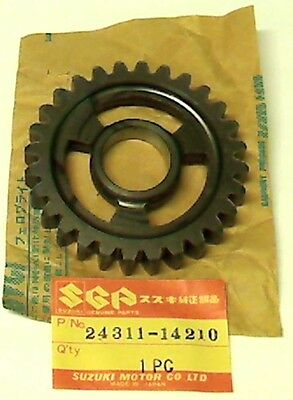 Suzuki Rm465 X/z 1981-1982, New Original Gear, 1St Driven (Nt:28)  24311-14210