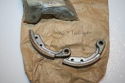 nos Yamaha GO CART BRAKE PADS 787-16601 1 SET  RT100 KT100