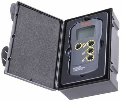 Hanna Instruments HI 935005 Digital Thermometer, 1 Input, K Type Input With SYS