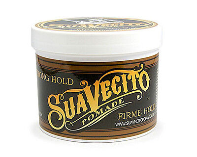 Suavecito Pomade Firme/ Strong Hold Pomade 4 oz Free Fast Shipping US Seller
