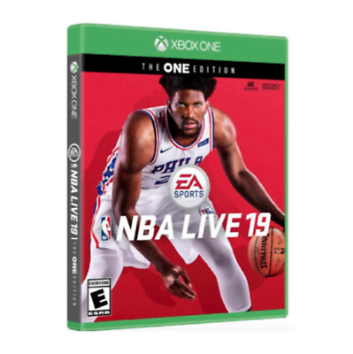 NBA Live 19: The One Edition (Xbox One) Factory Sealed Brand New 2019