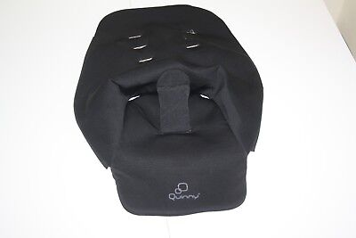"""Quinny Buzz pram and pushchair """" second stage seat cover """" - black"""