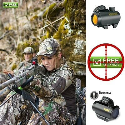 Bushnell Trophy Trs-25 Red Dot Sight Riflescope, 1 X 25mm, Black FREE SHIPPING