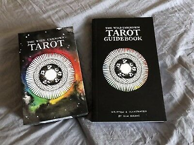 The Wild Unknown Tarot Deck and Guidebook Opened- Excellent Condition