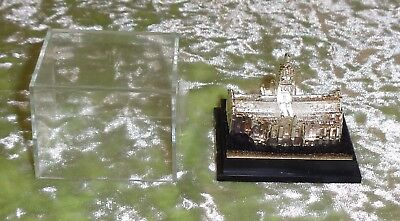 Vintage Silver Plated ST Giles Cathedral Minature Model Souvenir Made in England