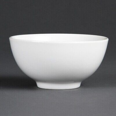Bulk Buy Pack of 24 Olympia Whiteware Rice Bowls 130mm (Pack of 24)