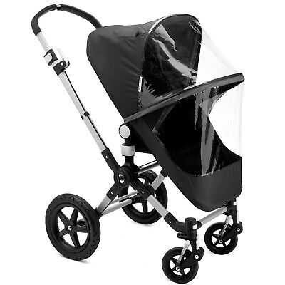 Bugaboo Fox/Cameleon High Performance Rain Cover (Black) NEXT DAY DELIVERY
