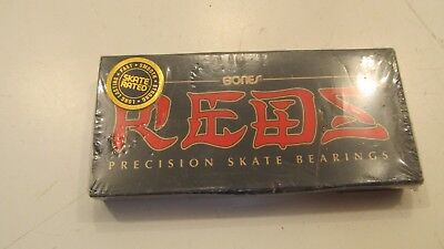 Original Bones Reds skateboard Precision bearings 8 Pack Set Skate Speed (L2)