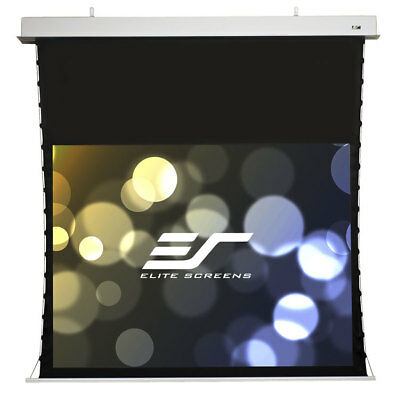 "New Elite Screen Evanesce Tab-Tension 95"" In-Ceiling Projection Projector Screen"